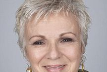 Silvery, Argent, Grey and blond / Age doesn't hold you back, beliefs do. Stylish women and over 40...