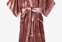 Silk velvet clothes