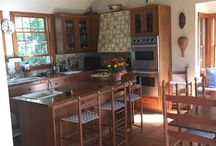 Polpis Kitchen Before and After / Updated an old kitchen into a new cooking and gathering area