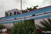 Parque Verano Azul, Nerja. / Si vas a Nerja no puedes perderte, entre otras muchas cosas, el parque Verano Azul. Famoso por albergar el barco de Chanquete, de la serie de televisión que le da nombre.