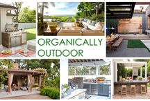 KKDL TRENDWATCH 2016: ORGANICALLY OUTDOOR / As much as we love our living rooms, it's high time we paid a little extra attention to the space just past our sliding glass doors. Organically Outdoor combines the best of the indoor and outdoor worlds by fusing lux outside furniture with natural elements to curate an outdoor escape all your own. This modern style is universally appealing with a subtle color palette, stainless steel and metal elements, and natural foliage finishes.  / by Kerrie Kelly Design Lab