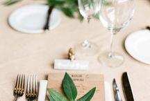 Dekoration / Dekoration till bröllopskokal i tält