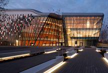 Krakow BUSINESS / Modern, business buildings.