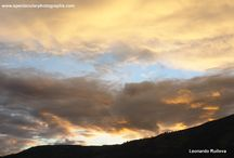 Sunset sequences 16 / Sunset sequences over the Andes, Pichincha Volcano, Quito, Ecuador