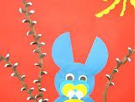 prace plastyczne dla dzieci - wielkanoc