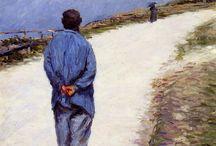 Art  Gustave Caillebotte / 1848--1894.