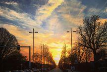 Lucht & Licht / Mooie kleuren in de lucht.