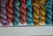 Hand Dyed Yarn Inspiration