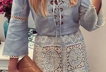 Moda - Lace Up
