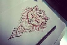 Татуировки с кошками