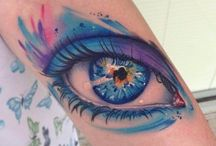 Eye tattoos / #Eye #Eyetattoos #Tattoo #Tattoos #Tattooed #Skinart #Tat #Tattooart #Art #Design #Tattoodesign #Tatooisme #Tattooism #Ink #Inked