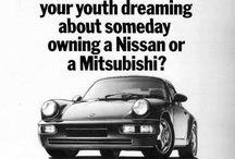 Old Porsche Advertising