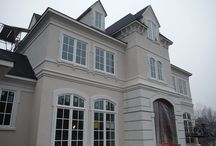 Stucco Project   New Construction / Not only does Siding Express install siding but we also do stucco!