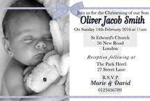 Baptism Invitations / Baptism / Christening / Naming day Invitations