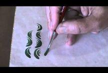 Brush stroke