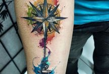 Colored tattoos
