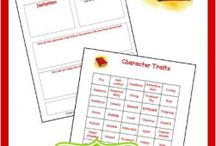 Homeschool Character Study / Ideas on how to incorporate more character study into our homeschool. / by Jacqui Hodges