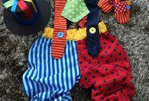 clown custume