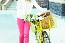 A Lady and her Bicycle