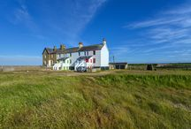 Coastguard Cottages, Camber, East Sussex / Built in this secluded spot, to help guard against smuggling and invasion, these beautiful renovated coastguard cottage's are the perfect location for a holiday away from the hustle and bustle of modern life.