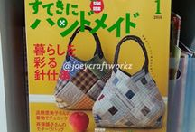 Japanese sewing patchwork books and magazine