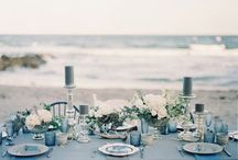 Ocean Inspired Wedding Decor and Ideas