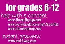 Math Websites / by Nicki Allevato