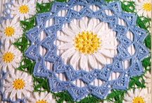 crochet doilies ,dish clothes , potholders / by Ruth Bross