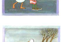 Kikker en gans / Kikker in de kou