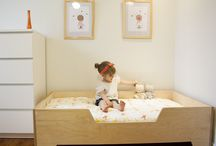 Toddler and baby room::