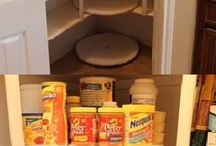 pantry ideas / by Heather LoBrutto