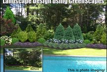 Landscape Design Examples using GreenScapes / GreenScapes is an easy to design landscape program. Contractors love showing off their work.