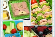 Kid lunch food / by Colleen Bray