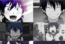 Blue exorcist / Simple
