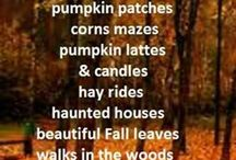 Fall / I can't wait for fall