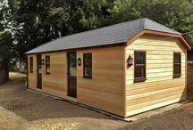 Classroom outbuildings / Timber buildings designed and built as garden classrooms for schools. Timber framed and timber clad, they are fully insulated and very high spec.