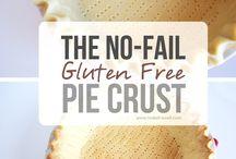 Gluten free. Pie crust