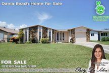 Dania Beach Homes for Sale by Broker Patty Da Silva of Green Realty Properties