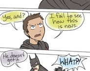 Batman and Young Justise and Bat-Family