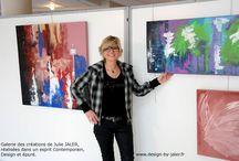 Design By Jaler / Galerie des créations de Julie JALER, réalisées dans un esprit Contemporain, Design et épuré. Prestations haut de gamme de décoration d'intérieur, de Tableaux, de Customisations originales pour particuliers et professionnels. En savoir plus : http://www.design-by-jaler.fr/