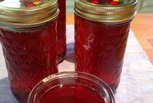 Sirup og marmelade