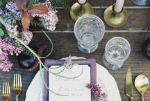 Lovely Lilac / Colour Inspo for your wedding day.
