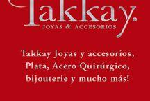 Takkay Joyas / Takkay Joyas y accesorios, Plata, Acero Quirúrgico, bijouterie y mucho más! en Mendoza Argentina / by Agos Dris