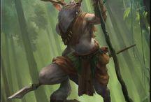 RPG Inspiration Cervine Folk