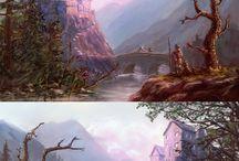 Digital Painting - Landscapes