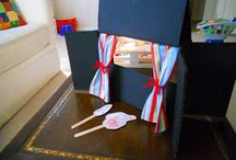 Puppet Theater Fun / Puppets and puppet theaters are perfect for Readers Theater.  Free trustworthy scripts at:  www.ReadersTheaterAllYear.com
