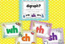 Digraphs, Blends & Long Vowels