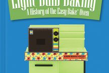 Light Bulb Baking: A History of the Easy-Bake Oven / This first definitive retrospective of the Easy-Bake Oven celebrates its journey from children's toy  to pop culture icon. The book explores the innovation, history, economics, commerce, advertising, and marketing behind the toy's 50 year history.