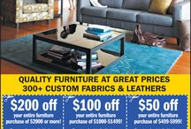 Sales Events at FOW / Check out the latest sales events from FOW.  Get the latest deals on furniture and accessories.