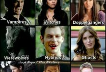 The Vampire Diaries / My love for vampire diaries. Werewolves,witches and of course vampires!